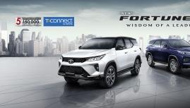 Toyota Fortuner 2021 nâng cấp công nghệ mới nào?
