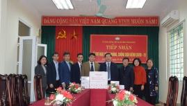 Honda Việt Nam góp 1 tỷ đồng chống dịch với Vĩnh Phúc