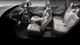 Subaru Forester thêm màu nội thất ghi xám giá không đổi và xe sẵn có