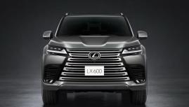 Lexus LX 600 SUV đỉnh cao xuất hiện