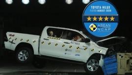 Toyota giành giải An toàn xuất sắc nhiều nhất ở ASEAN NCAP 2020