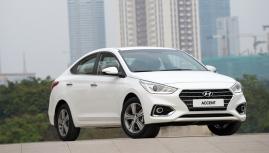 Hyundai Accent 2018  Tổng điểm thì nhất