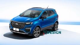 Ford EcoSport 2023 có thiết kế không chính thức