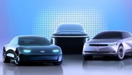 Dàn xe điện của Hyundai bắt đầu hé lộ thêm SUV lớn