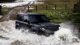 Land Rover Defender V8 giới thiệu 3 phiên bản kịch độc mới