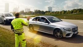 Đặc quyền hỗ trợ 24h cho chủ xe Mercedes-Benz