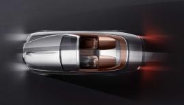 Rolls-Royce mui trần phong cách Viên đạn bạc