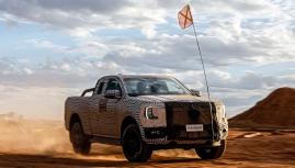 Ford Ranger thế hệ mới chính thức được hãng hé lộ hình ảnh