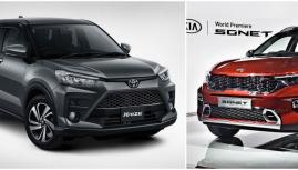 KIA Sonet và Toyota Raize sẽ phá vỡ phân khúc miniSUV tại Việt Nam?