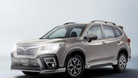 Subaru Forester i-L thêm ốp thể thao GT Lite Edition giá 30 triệu đồng