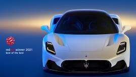 Maserati MC20 Giải siêu xe đẹp nhất thế giới, Red Dot Awards 2021