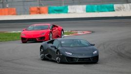 """Lái Lamborghini """"ĐIÊN"""" thế nào"""