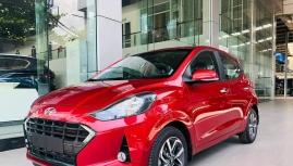 Hyundai i10 phiên bản mới xuất hiện tại đại lý sắp ra mắt