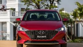 Hyundai Accent 2021 ra mắt giá thấp hơn đại lý công bố.