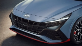 Hyundai Elantra N xuất hiện ảnh chính thức với thiết kế khiêu khích